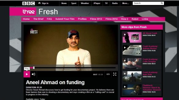 aneel ahmad bbc three bbc fresh 2014